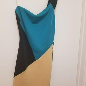 MYSTIC Open back strap dress, size M